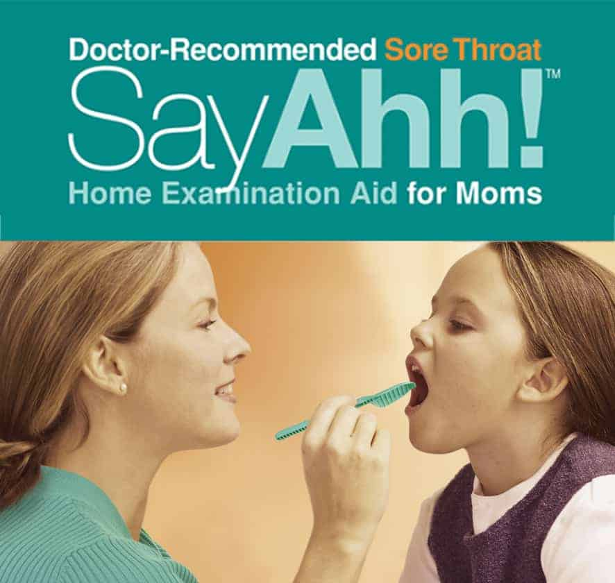 Get a jump on cold & cough season by adding the SayAhh! Sore Throat Home Exam Aid to your tool kit! Learn to identify different causes of sore throats.