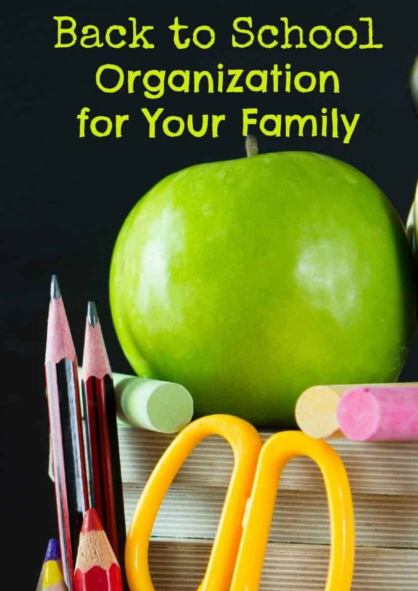 Get ready for the first day of the new school year with these great back to school organization ideas for your whole family! We've got you covered from lunch to paperwork!