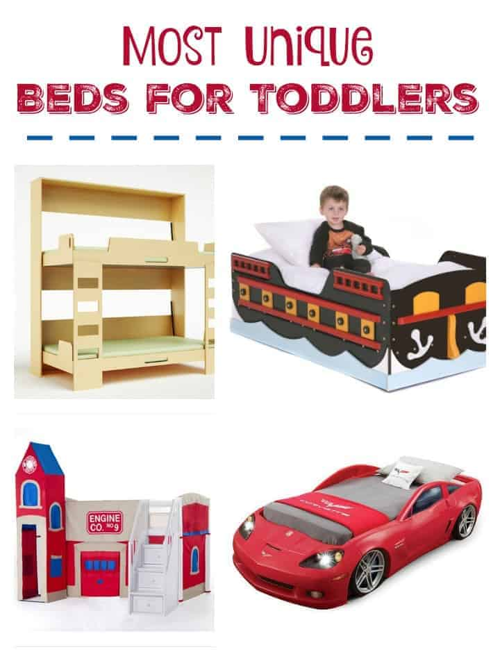 Upgrade your nursery to a big kid room any tot would love to sleep in with these most unique beds for toddlers! Check them out!