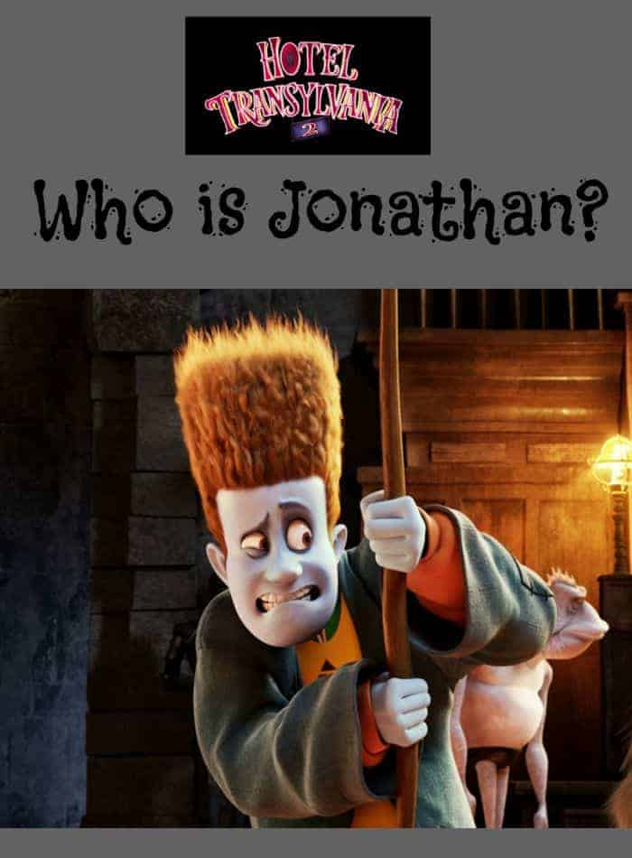 Who is Jonathan in Hotel Transylvania 2? Come find out everything you need to know about Mavis' human hubby in the hit family movie!