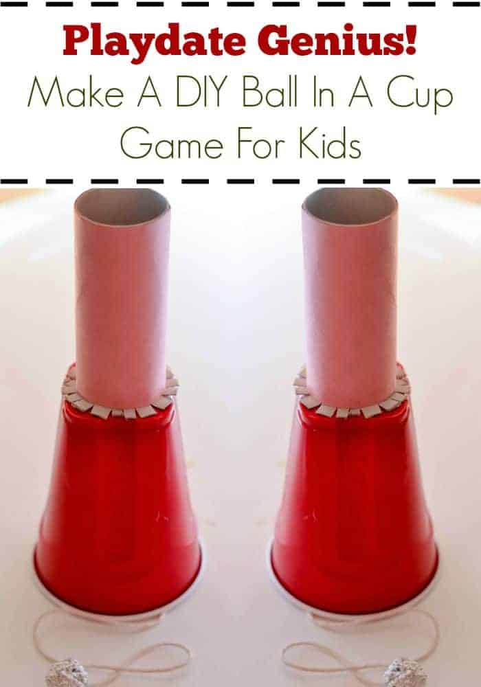 Help kids make a fun DIY game for kids out of items you already have in your home and be a superstar at your next playdate or party.