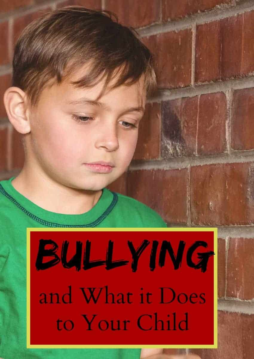 Bullying has a major impact on your child's self esteem. Learn more about the facts of bullying and how it effects your child both now and in the long run.