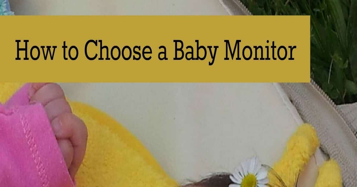 Knowing how to choose a baby monitor is so important because it's your link to your bundle of joy when you're not in he same room. Check out our tips!