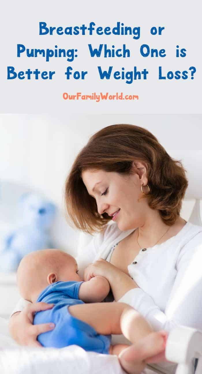 Breastfeeding or pumping: which is better for weight loss? It's a question that a lot of women ask as they near the end of their 3rd trimester. We all know that breast milk is the best food for your baby, but does it matter how they get it? Will one method really help you lose weight more than the other? That's what we'll find out!