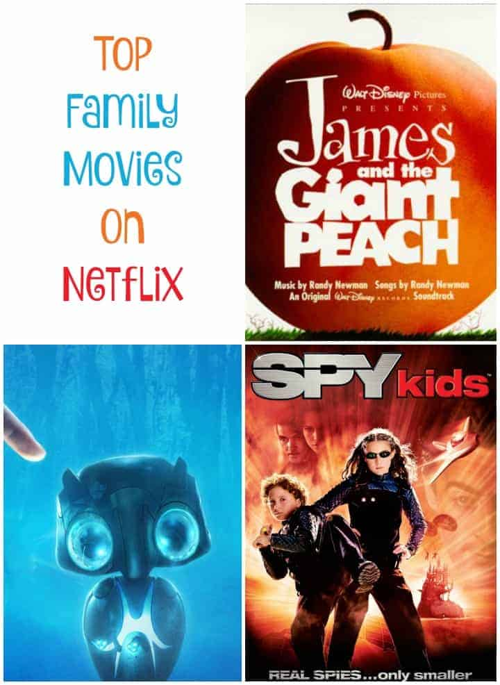 With all the holiday breaks coming up, it's time to pick out some good family movies on Netflix and spend some time bonding! Check out our favorites!
