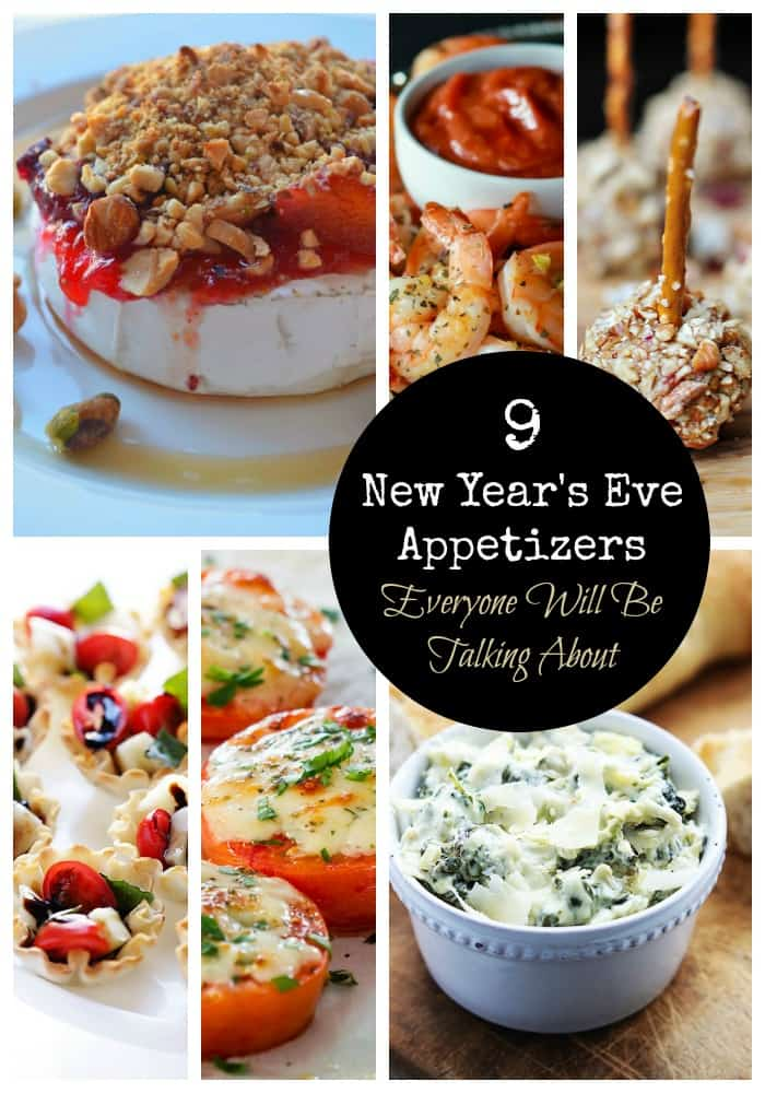 Check out our delicious roundup of New Year's Eve appetizers for your party. Your guests will be talking about these delicious bites for weeks!