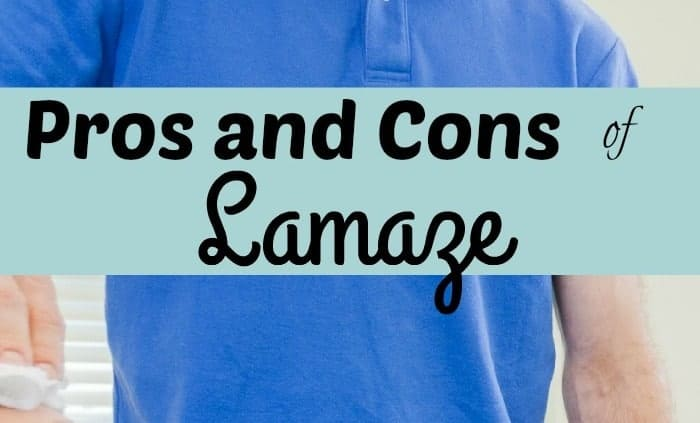 Are there pros and cons of Lamaze? Yes, breathing correctly is important but will it help to take the pain away?