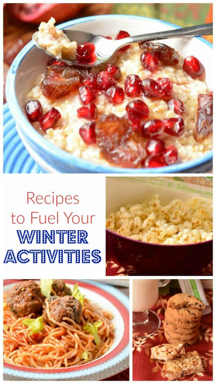 Planning a fun day of winter activities? Check out three great recipes to fuel your family on the slopes, in the snow or just out and about!