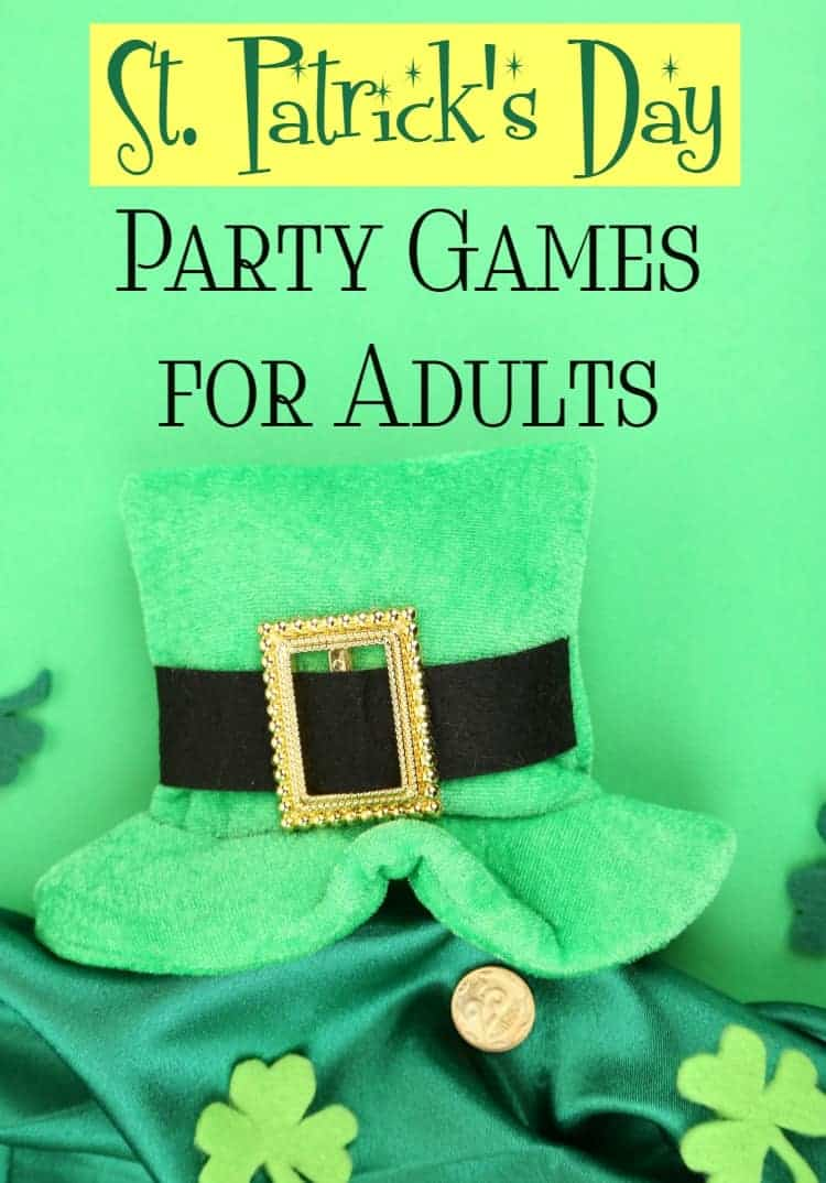 Need ideas for fun St. Patrick's Day party games for adults, but don't want to go with the same old drinking games? Check out these fun family-friendly party games that won't leave you forgetting your name the next morning!
