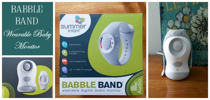 Babble Band is the wearable baby monitor you've been dreaming of! This is a must-have for your baby registry & the perfect baby shower gift! Check out our review!