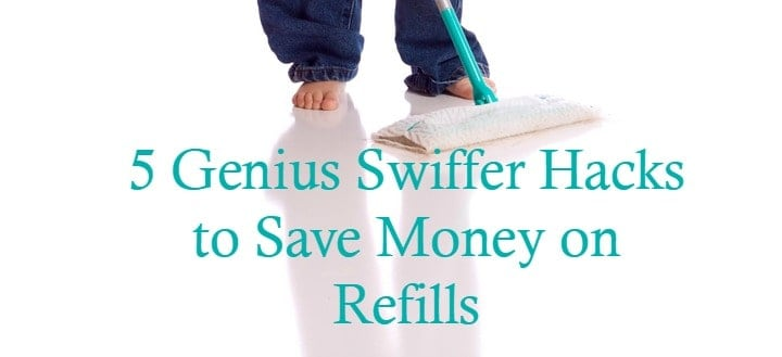 When it comes to organizing hacks, the Swiffer is one of our favorite tools, but refills can be costly. Check out our DIY Swiffer hacks to save on refills!