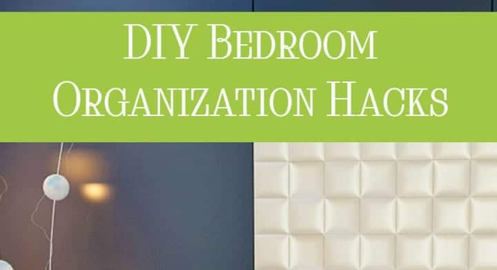 Of all the room in my house in need of organizing hacks, my bedroom cries out the loudest! I need a sanctuary, not a storage room for overflow from the rest of the house! Check out these bedroom organization hacks to finally get the retreat you deserve.