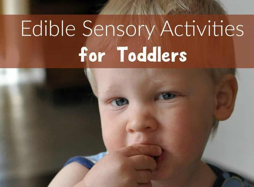 Edible sensory activities for toddlers are fun ways to explore new textures and encourage learning. Bonus: they're also incredibly beneficial for toddlers with speech and language delays! Check out a few of our favorites!