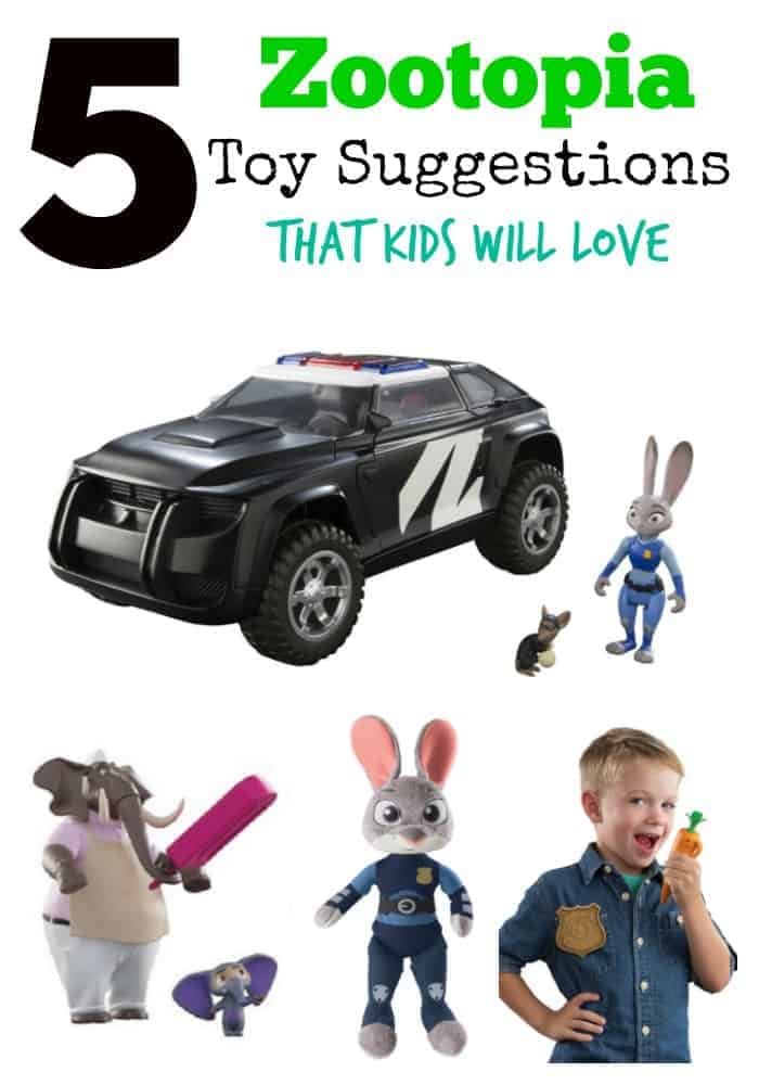 Disney's Zootopia is a hit in theaters and with many kids and families. We picked some impossibly cool Zootopia toy suggestions your kid will love!