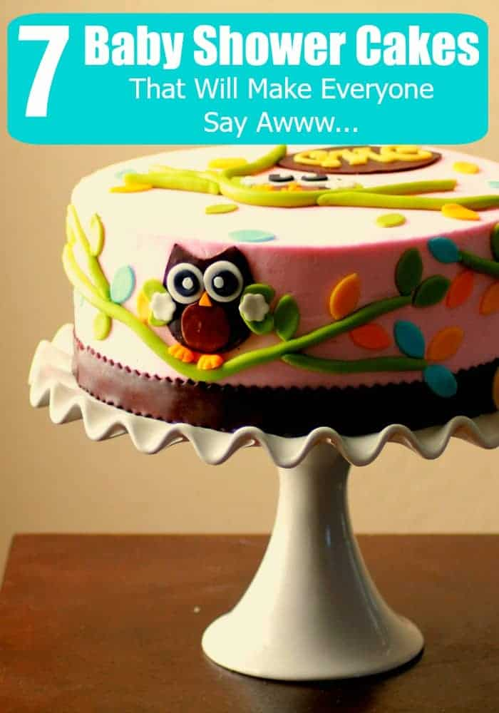 Do you need ideas for baby shower cakes? We have irresistible ideas that will have you begging someone to have a baby! I gotta get this cake!