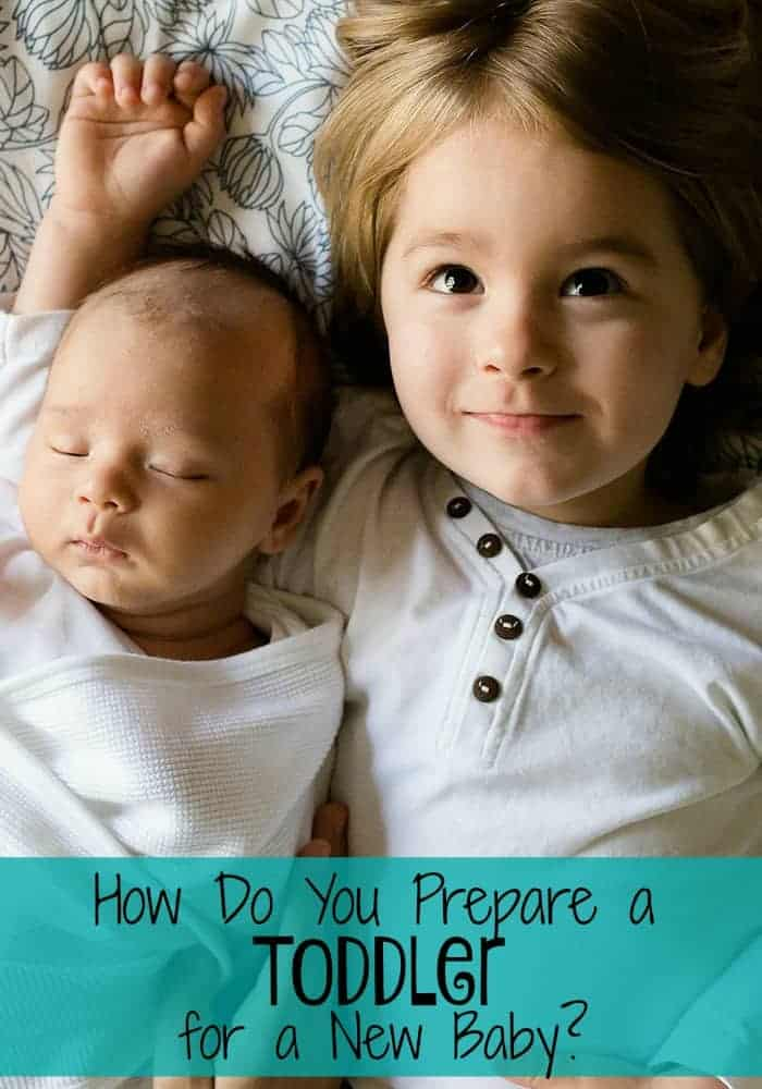 How do you prepare a toddler for a new baby? It can be scary to think he won't be an only child, how is he going to handle it? Check out our suggestions.