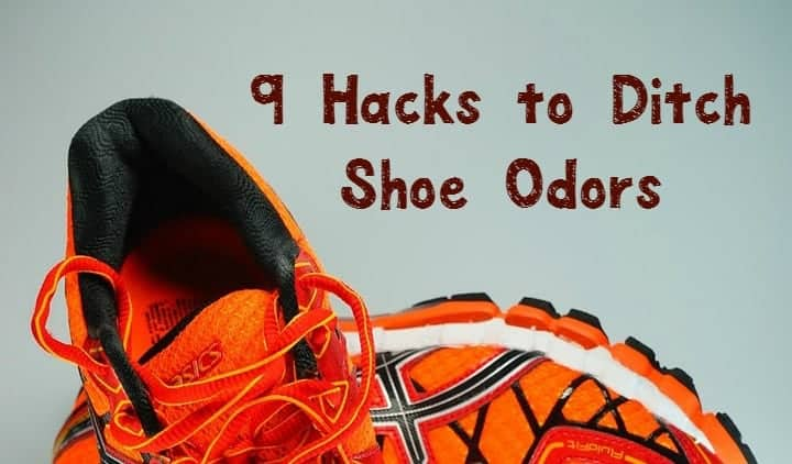 Embarrassed by the nasty aroma coming from your favorite sneakers? Check out these 9 great cleaning hacks to reduce shoe odors!