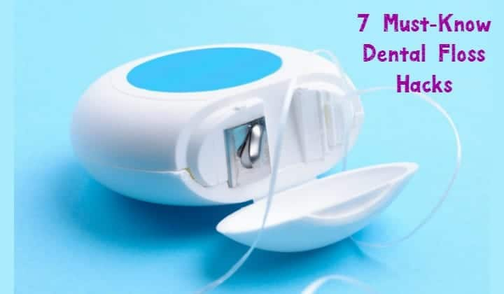 Believe it or not, dental floss isn't just for flossing your teeth anymore. You can actually use it in tons of time saving and organizing hacks around your house! Considering that you can grab a container of floss for around a buck, these tricks can really help save you money too. Don't you love it when you can repurpose something inexpensive like that? I know I do! Here are some of the best dental floss hacks.