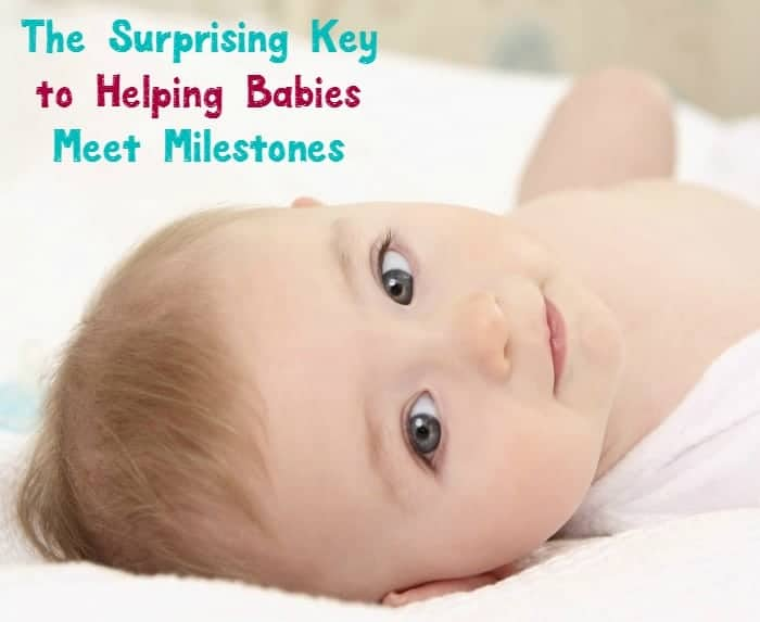 What is the key to helping babies meet milestones? You might be surprised to find out that it's as simple as making sure they have plenty of tummy time! Check out these ways to make the most of tummy time, plus amazing baby toys that will help your little one reach those major milestones during the first year!