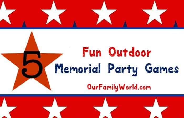 With the unofficial start to summer fast approaching, I took the liberty of gathering up five super fun outdoor family games to play this Memorial Day. With BBQ's and get togethers on the horizon, you want to keep the kids (and adults!) entertained, and games that include everyone are the way to go! Here are some of my faves to play with friends and family when the weather starts to get warmer.