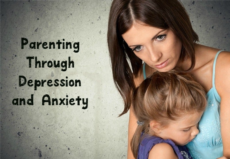 Check out our #parenting tips for coming out ahead of #depression & #anxiety while raising your kids.