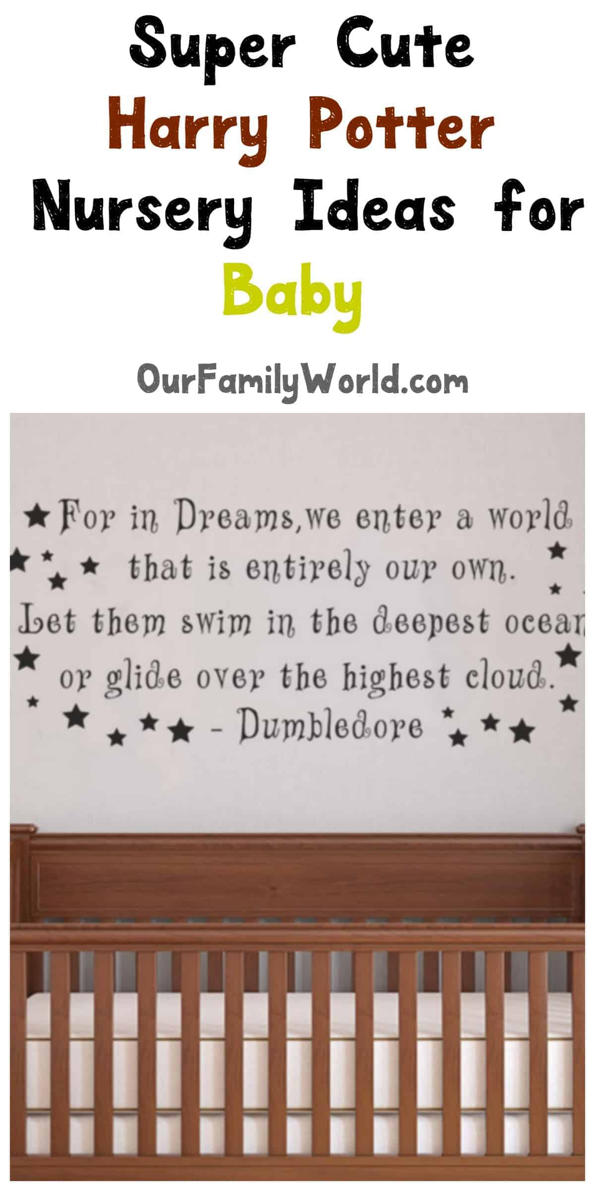 SUPER CUTE HARRY POTTER IDEAS FOR BABY