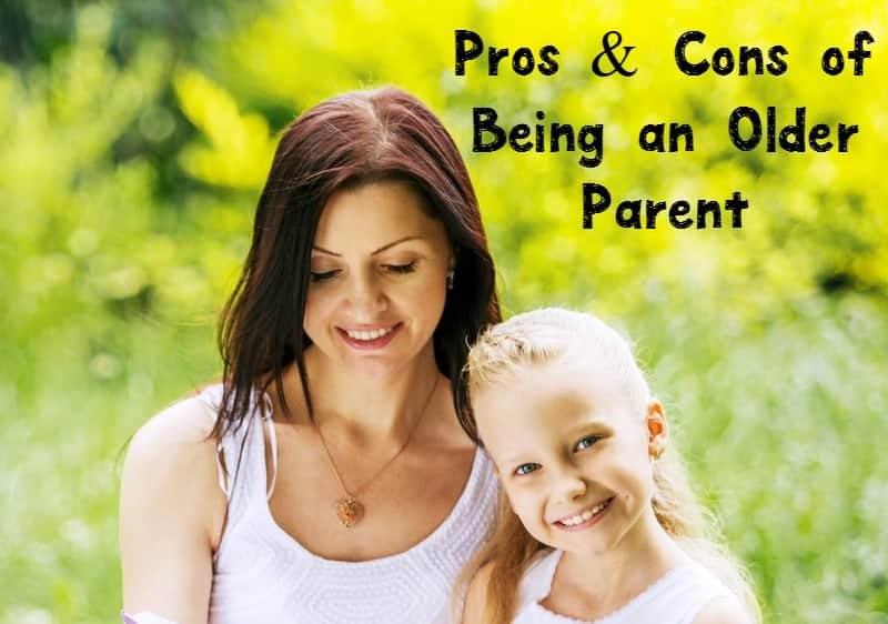 Being an older parent