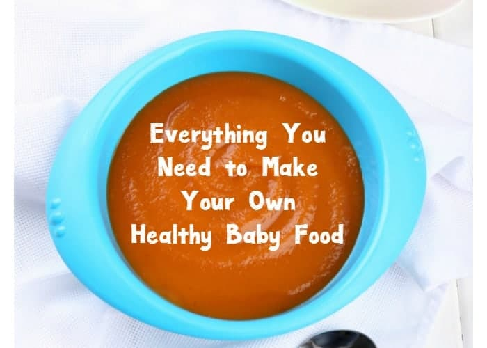 Want to make your own healthy baby food at home? Here's everything you need to get started, from tools to books to recipe videos!