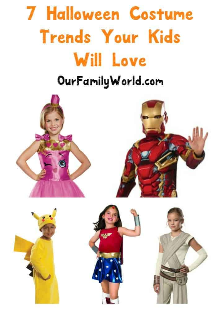 Try 7 Halloween costume trends your kids will love and skip the ghost.