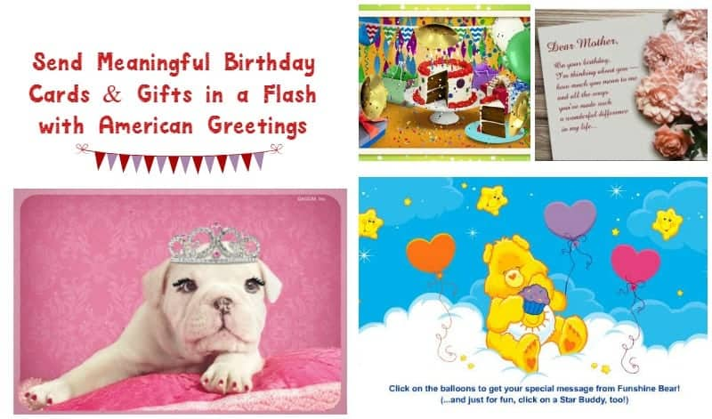 Thanks to American Greetings you'll never miss another birthday again! Check out their fab ecards & sign up for a membership today!