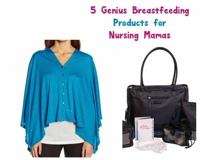 Overcome all the challenges of being a new nursing mom with these 5 genius breastfeeding products!