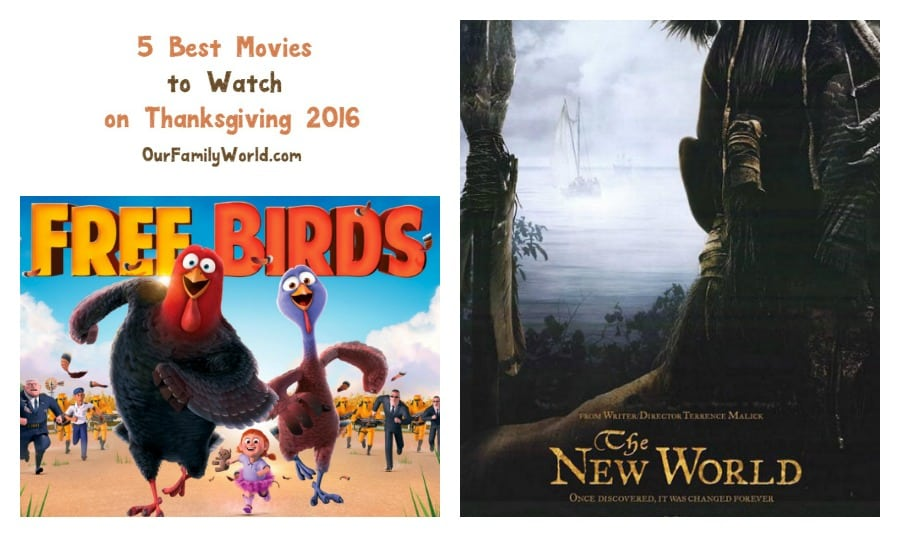 Looking for the best movies to watch on Thanksgiving 2016? Check out our picks for films that the whole family will enjoy snuggling up to after the feast!