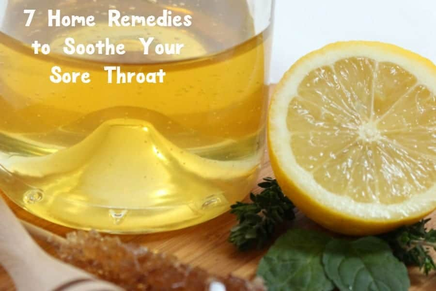 Cold weather means the return of flu season! Check out these home remedies to help your sore throat feel better fast!