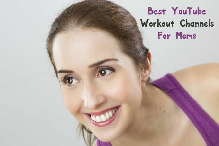 Need help keeping your New Years resolutions but don't have time to hit a gym? Check out the best YouTube Workout Channels for moms!