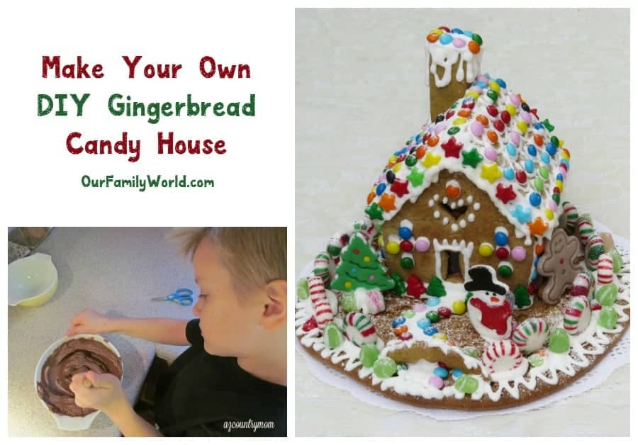 """alt=""""How to Make a DIY Gingerbread Candy House"""""""
