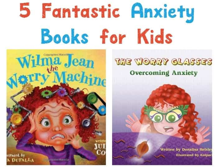 Dealing with feelings of fear and anxiousness when you're a child isn't easy. Check out these five great books to read for kids to help cope with anxiety.