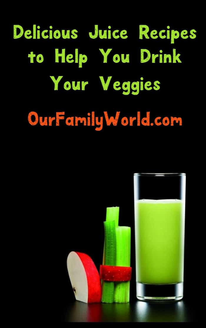 Drink your veggies with these two delicious juice recipes, plus check out an awesome Christmas gift idea for the health-conscious on your list!