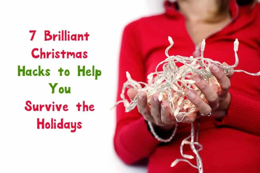Survive the holidays intact with these 7 brilliant Christmas hacks that help you save both time and money! Check them out!