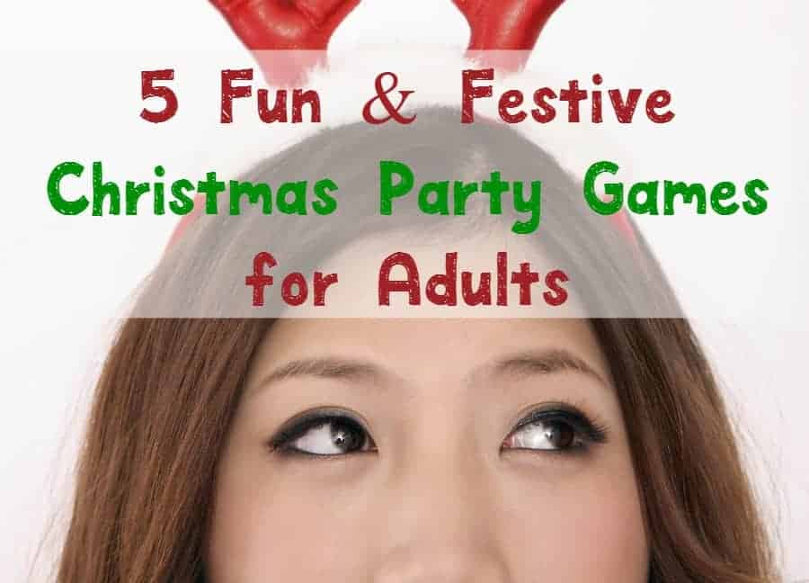 Can you believe it's almost time to start planning your holiday festivities? Check out our list of fun & festive Christmas party games for adults!