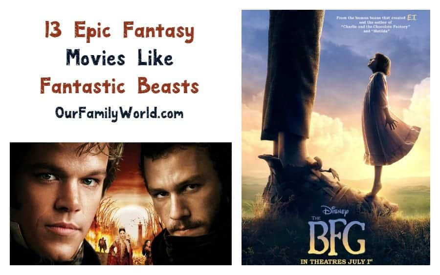 Check out 13 great family movies like Fantastic Beasts and Where to Find them and host your own epic fantasy film night at home!