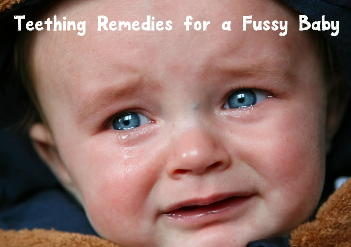 Looking for teething remedies for a fussy baby? Check out a dozen baby tips that will help soothe those aching gums!