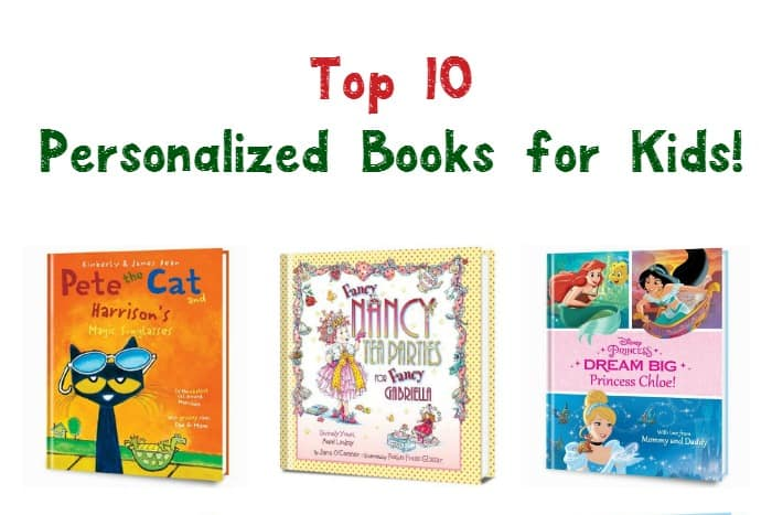 Looking for the perfect holiday gift ideas for your little one? These 10 personalized books for kids from Put Me In the Story make meaningful keepsake presents! Check them out!