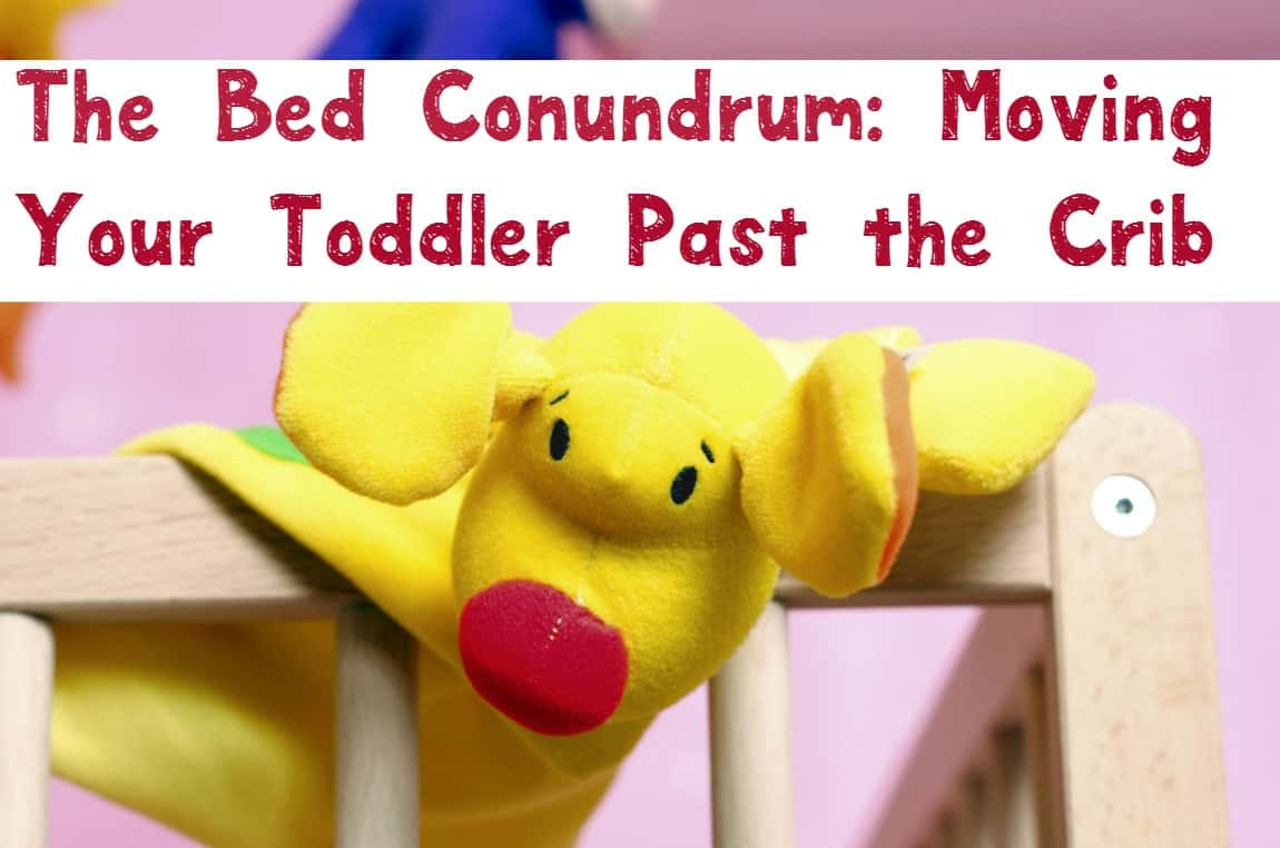 Moving your toddler to a big kid bed before baby #2 arrives? Check out our parenting tips for choosing the right bed and making the process easier on all of you!