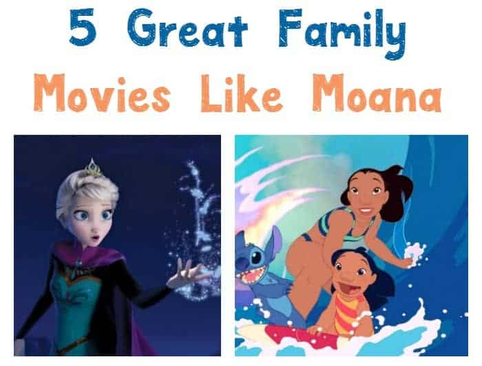 Looking for more great family movies like Moana? Check out 5 of our favorites that feature many of the same themes!