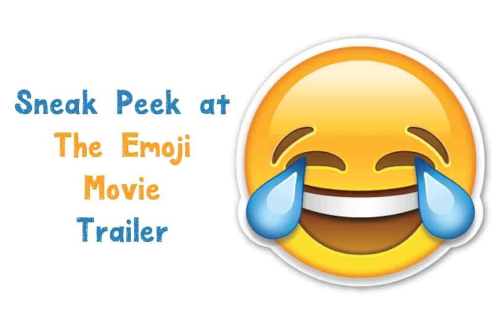 A film based on the little smiley faces that you send to your friends to express your moods? It's true! Check out the Emoji Movie trailer!