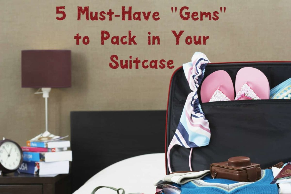 """Getting ready for your family vacation? Check out 5 """"gems"""" that should be on every packing list, plus enter for a chance to win an awesome prize pack with pre-vacation essentials!"""