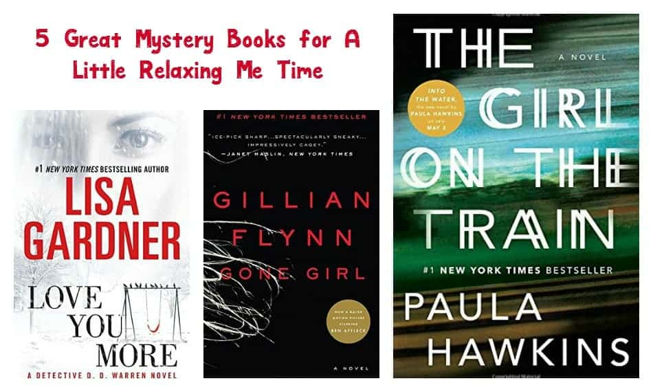 """Need some """"me"""" time? Get lost in a good whodunit with these 5 great mystery books! Check them out!"""