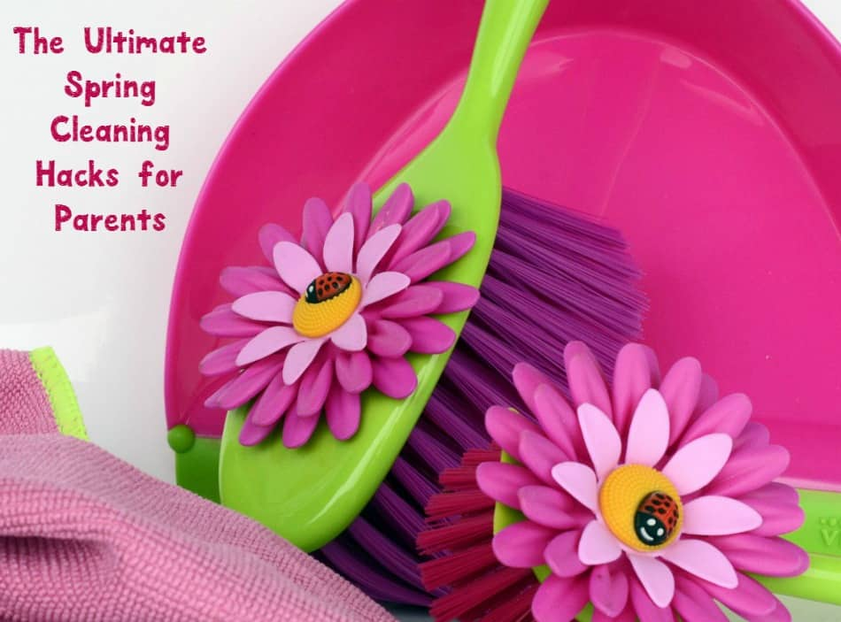 Spring cleaning with kids? Yep, it can be done! Check out our parenting tips and hacks for cleaning up all those wonderful messes your kids leave behind!