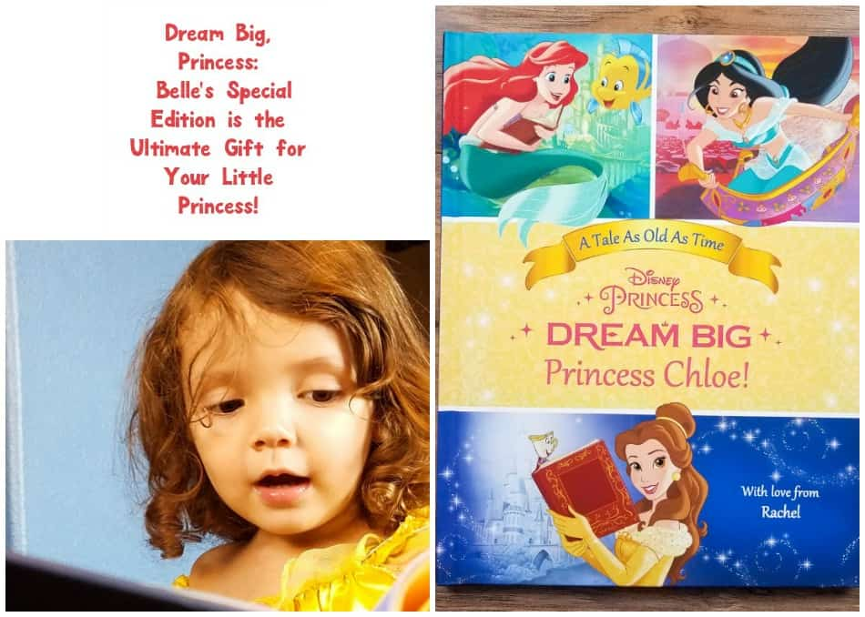 Give your little Beauty and the Beast fan the ultimate gift with a personalized Dream Big, Princess: Belle's Special edition book from Put Me in the Story!