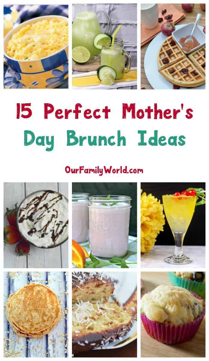 Want to treat mom like the royalty that she is with a special meal? Check out these 15 perfect Mother's Day brunch ideas that you'll both love!